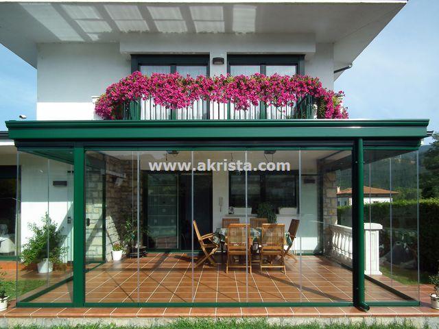 Akrista techos y cortinas de cristal akrista - Techados para terrazas ...